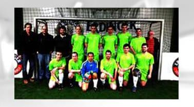 The WICKERT hydraulic press soccer team start in the new season 2015